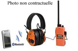 Peltor caque anti-bruit sport TAC bluetoo