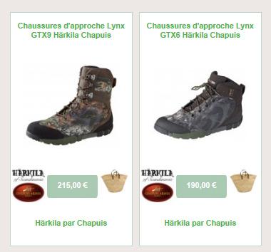 Lynx chaussures d'approche spécial