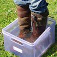 Test d'étanchéité des bottes en cuir 2