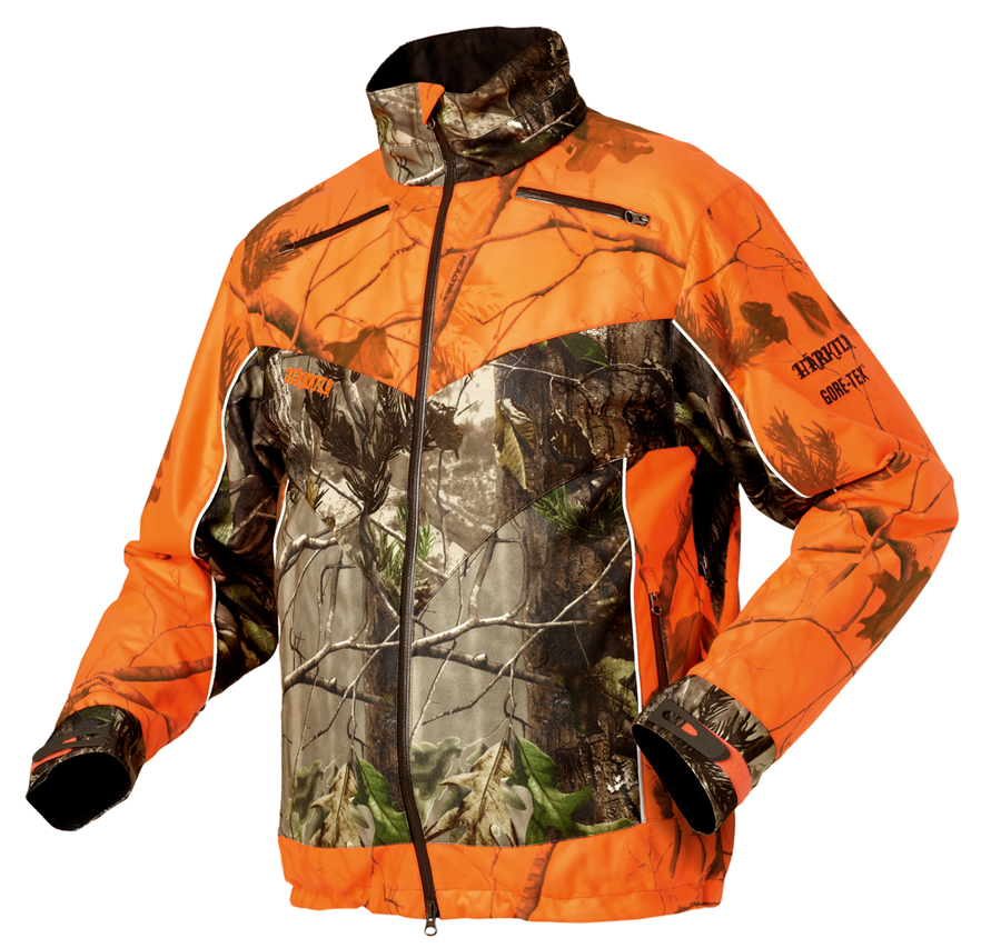 Veste de chasse femme orange