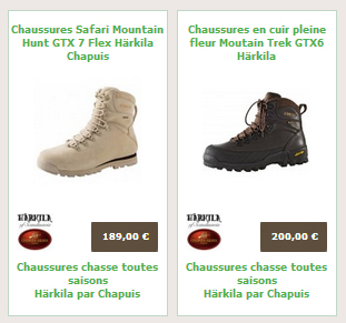Mountain chaussures harkila