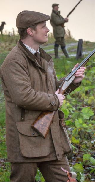 Laksen tweed Balfour veste de chasse en tweed