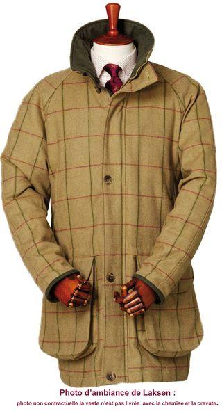 3170-Glennan veste de chasse en tweed