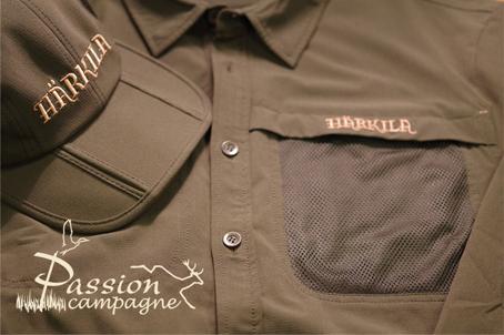 Härkila Herlet chemise pantalon casquette